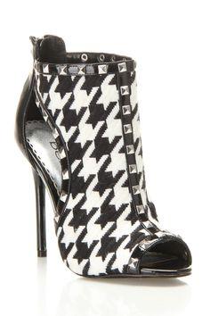 ce497f15fa01 Bebe Lexington Sandal Heels In Black - Beyond the Rack Peep Toe Heels
