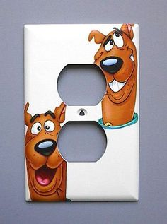 Scooby Doo OUTLET Switch Plate switchplate . $7.99