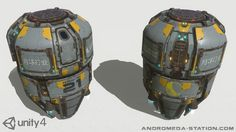 Orbital Reentry Craft - A high quality animated escape pod asset with detailed interior. An excellent addition for your: Space flight simulator, Sci-fi survival adventure, FPS dropship spawn point, Sci-fi environment setting Star Citizen, Space Flight Simulator, Robot Technology, Technology Gadgets, Comic Book Drawing, Cyberpunk Rpg, Mecha Suit, Space Crafts, Craft Space