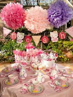 Link to adorable party supplies and CUTEST FAVOR BAGS!!!  Click on picture, search hello kitty