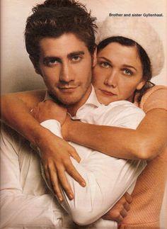 Jake Gyllenhaal & Maggie Gyllenhaal brother & sister /family actors