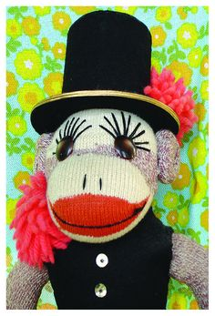 sometimes life just calls for a little sock monkey love :)