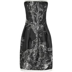 Alexander McQueen Fairy-tale strapless dress ($2,825) ❤ liked on Polyvore
