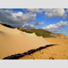 Stretch Tent on Natures Valley Beach, Garden Route by www.eventsandtents.co.za