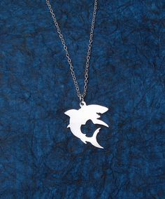 Shark Necklace by RoxysCreations on Etsy, $15.00