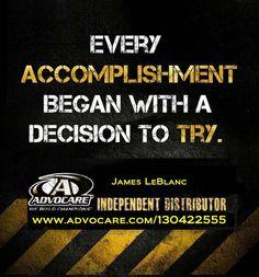 James LeBlanc Independent AdvoCare Advisor Phone 409-963-9218 Email: jleblanc@gt.rr.com www.advocare.com/130422555