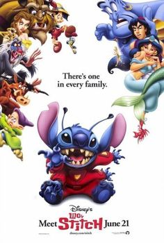 Disney - Stitch takes over..theres one in every family..that you love that they just wont fit into the box you try to shove them into