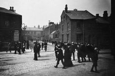 Vyse Street in the heart of Birmingham's Jewellery Quarter cica 1910. Not too far away from Bowman.