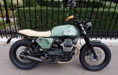 Moto MOTO-GUZZI V7 II by PARADISE MOTORCYCLES, Paradise Moto, Concessionnaire MV Agusta, Triumph et MBK, Paris Etoile