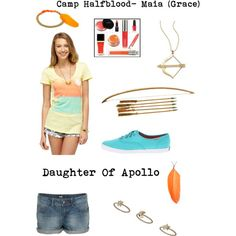 """Maia- Daughter of Apollo"" by kristenkubek on Polyvore"