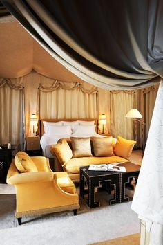 The Selman Hotel, Marrakech designed by Architect Jacques Garcia