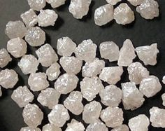 Natural Rough Loose Diamond White Color Sparking African