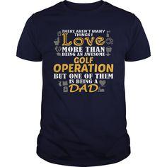 (Tshirt Popular) Awesome Tee For Golf Operation [Tshirt design] Hoodies Tee Shirts