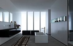Attractive Contemporary Bathroom FONTE By Rifra | Archisesto Chicago | #bathroom  #modern #contemporary #. Minimal BathroomModern BathroomDesign  BathroomItalian ...