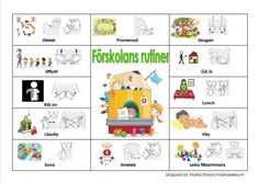 Mariaslekrum Sign Language Book, Sign Language Phrases, Preschool Routine, Learn Swedish, Swedish Language, French Worksheets, Baby Barn, Autism Spectrum Disorder, Reggio Emilia