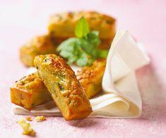 Minicakes aux courgettes