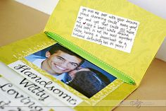 Step Card Tutorial- Great idea for an anniversary card or get the kids to help and make one for Father's Day