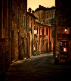 """in the streets from montepulciano"" by Sonja Probst, via 500px."