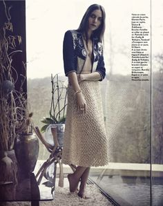gipsy queen: lary arcanjo by peter gehrke for grazia france 7th june 2013