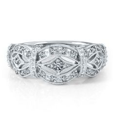 Smart Value® 1/5ct TW Diamond Anniversary Ring in 10k Gold available at #HelzbergDiamonds #crazypinlove