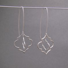 Ripple Earrings by Caitie Sellers, sterling silver. Available at Green Hill Center for NC Art for $120, info@greenhillcenter.org or come by!