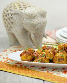 Sweet & Sour Cauliflower Wings www.fooddonelight.com