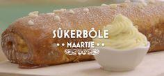 Sûkerbôle British Bake Off, Pudding, Cheese, Cookies, Holland, Breakfast, Desserts, Dutch, Breads