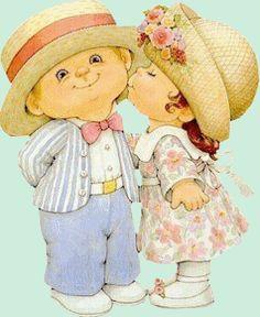 Recordar siempre besar a quienes amamos!