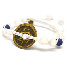 Enlightenment Bracelet | This Energy Muse piece is designed to help you connect with a state of enlightenment. Enlightenment is a blessed state of freedom from suffering, desire and ignorance. The acquisition of new wisdom, the disappearance of ego and discovering a state of complete emptiness.
