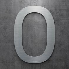 Moderne Hausnummern Edelstahl neu inoxsign edelstahl hausnummer 2 moderne hausnummern aus