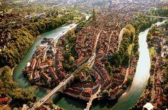 Oh I love you! Bern Oldtown Aare