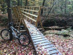Mountain Bike Trails North Carolina   ... park Mountain Bike Trail in Durham, North Carolina    SINGLETRACKS.COM