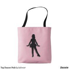 Tap Dancer Pink Tote