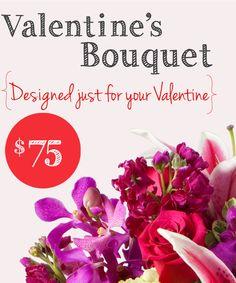 A Valentines Bouquet, designed just for your Valentine @freytegsflorist