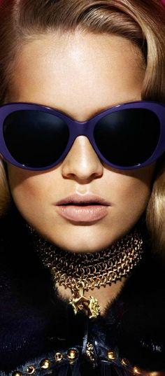 09465faf9 Versace F/W 2014-2015 Tendências De Óculos, Acessórios De Moda, Acessórios