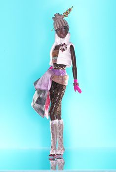 Byron Lars Coco™ Barbie® Doll - Byron Lars makes the most gorgeous Black Barbies in the world. I want them ALL.