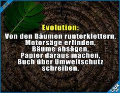 Evolution kurz erklärt...