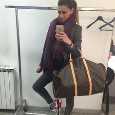#MelissaSatta Melissa Satta: Always traveling