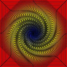 Chromadepth 3D Spiral Tunnel by Trip-Artist on DeviantArt