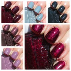 Essie Winter 2013 Collection Swatches & Review