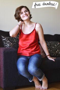 Patron gratuit: haut & robe Bailén - Pauline alice