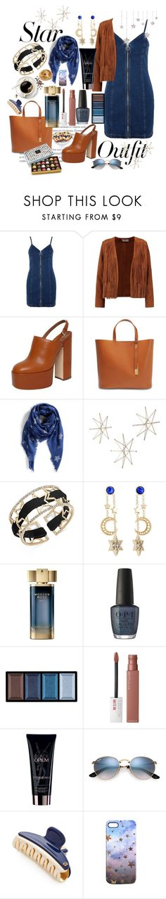 """""""Stars On My Mind"""" by pulseofthematter ❤ liked on Polyvore featuring Topshop, Sandro, Laurence Dacade, Sophie Hulme, rag & bone, Uttermost, INC International Concepts, Etro, Estée Lauder and OPI"""
