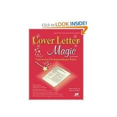 Cover letter magic trade secrets of professional resume writers