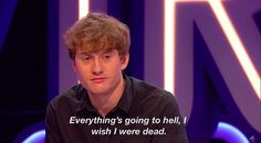 British Comedy, British Men, Good People, Pretty People, Comedian Quotes, Im Depressed, Be A Nice Human, Character Aesthetic, Save My Life