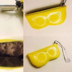 Rebecca Minkoff Leather Sunglasses Organizer Sunnies Zip Travel Case Pouch | eBay