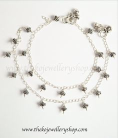 Silver Cheap Sales Expressive Rhinestone Anklet W Daisies Jewelry & Watches Fashion Jewelry