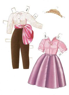 Mme Alexander's Cissy Paper Doll by Peck-Aubry (5 of 12)