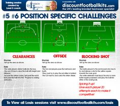 Position Specific Challenges. #coaching #footballcoaching #soccer #football…