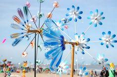 Resultado de imagen para Flowers 2.0, fleurs géantes lumineuses