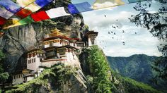Luxury adventure holidays where you travel in style #escapesnaps Location: Tiger's Nest Monastery, Paro Bhutan